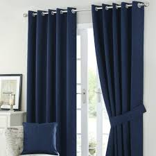 navy and white blackout curtains solar navy blackout eyelet curtains  percent off navy blue striped blackout