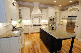 Kitchen Countertop And Backsplash Ideas For White Cabinets Small