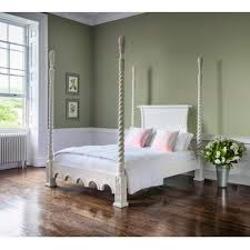 Poster Bedroom Furniture Provencal Four Poster White Bed Luxury Bed