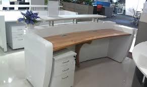 wood reception desk commercial modern office floor wood reception executive computer desk design furniture for wood reception desk