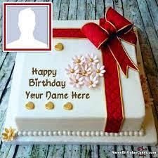 happy birthday cake with name free