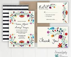 mexican wedding invitations. colorful mexican inspired wedding invitation \u2013 destination stationery - fiesta invitations