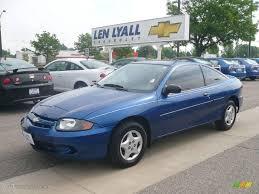 2004 Arrival Blue Metallic Chevrolet Cavalier Coupe #10182947 ...