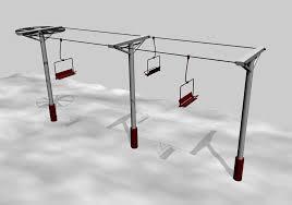 simple ski lift