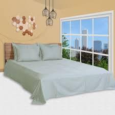 سوق تسوق 6 pc duvet cover set king size cotton 400 tc damask check pattern grey color premium duvet cover bedsheet 4 pillow cases by just linen