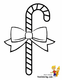 Christmas Cut Out Coloring Pages. Free Christmas Coloring Candy Cane at  YesColoring