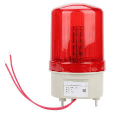 Red Led Emergency Lights 220v 20w Acousto Optic Alarm Rotating Light Red Led Warning