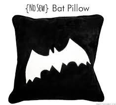 no sew bat pillow no sew bat pillow easy tutorial