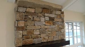 how to install stone veneer fireplace surround