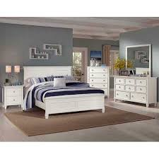 Tamarak White Solid Wood bedroom collection