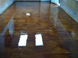 Concrete Wood Floors Crete Wood Redeckonwo