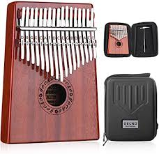 GECKO Kalimba 17 Keys Thumb Piano with ... - Amazon.com