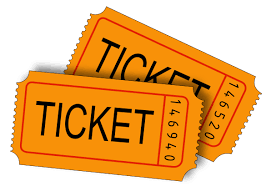 Image result for football tickets clipart orange