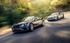 2017 Bentley Continental GT Convertible vs. 2017 Mercedes-AMG S63 ...
