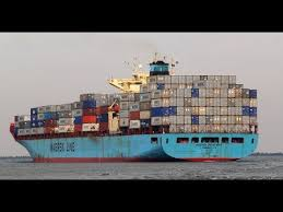 onboard maersk container ship hd 60fps