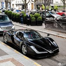 Black Ferrari Enzo Looks Like A Million Bucks Is Worth A Lot More Carscoops