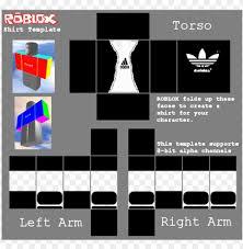 How To Make Good Roblox Shirts Roblox T Shirt Template Adidas T Shirt Roblox Roblox