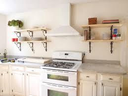 small kitchen shelves innovative brackets shelving bakers rack cabinet home design dazzling open