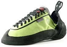 footwear  a climbing shoe