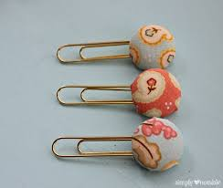diy office supplies. cute diy paperclips or bookmarks diy office supplies o