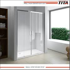 modern folding glass shower doors crystal d1 pictures photos