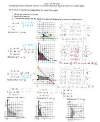graphing linear equations worksheet with answer key fresh programming algebra 1 worksheets for all 2
