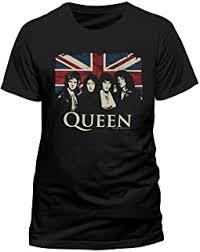 Queen - Tops & Tees / Band T-Shirts & Music Fan ... - Amazon.co.uk