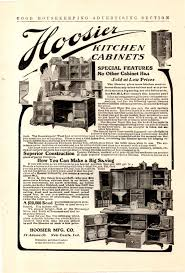 Hoosier Kitchen Cabinet 1906 Hoosier Kitchen Cabinet Ad Special Features Whats It Worth
