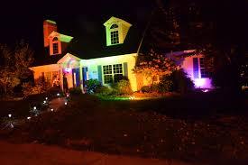 House Flood Lights Christmas Sutton Living Halloween Lighting Fun Flood Lights In