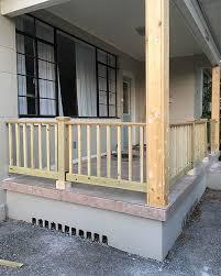 diy porch railing riverside retreat