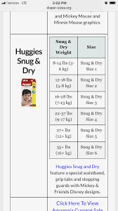 Baby Diaper Size Chart Huggies Diapers Size Chart India Best Picture Of Chart