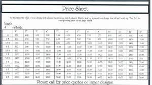 Vinyl Price Chart The Wright Expression