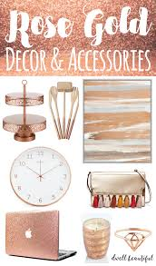 Small Picture Design Trend Stylish Rose Gold Home Decor and Accessories Dwell
