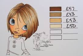 Copic Hair Color Chart Pin On Copic