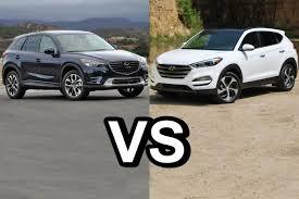 2016 Mazda CX-5 Vs 2016 Hyundai Tucson - DESIGN! - YouTube