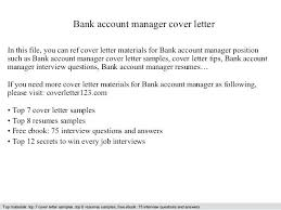 Bank Manager Interview Questions Letter Format To Bank Manager For Opening New Account Gallery Letter