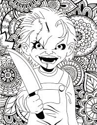 Unparalleled Coloring Pages Of Pennywise The C 153