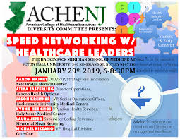 Speed Networking With Healthcare Leaders Achenj
