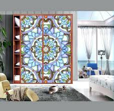 stained glass window stickers to re ancient ways stained glass windows sticker art glass wardrobe furniture stained glass window