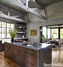 rustic modern office. Awesome Modern Rustic Kitchen Designs 76 On Home Office Decorating Ideas With E