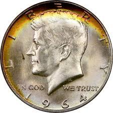 1964 D 50c Ms Kennedy Half Dollars Ngc