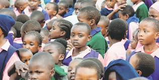 the saturday essay the bad economics of primary education  pupils follow proceedings at kiamaina primary school in nakuru on 17 at a reward scheme