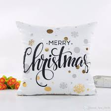 2018 <b>Beddingoutlet Bronzing Christmas Cushion</b> Cover Gold ...