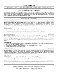 District Manager Resume Sample | Ophion.co