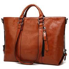 womens leather fashion handbags shoulder