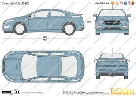The-Blueprints.com - Vector Drawing - Chevrolet Volt