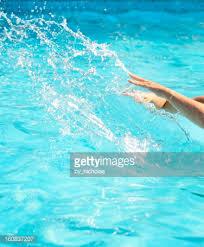 Creativity Pool Water Splash Stock Photo P To Decorating