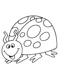 Kleurplaat Lieveheersbeestje Kleurplatennl