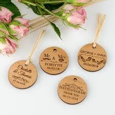 engraved wedding round wooden gift s