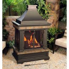 amazing portable outdoor fireplace